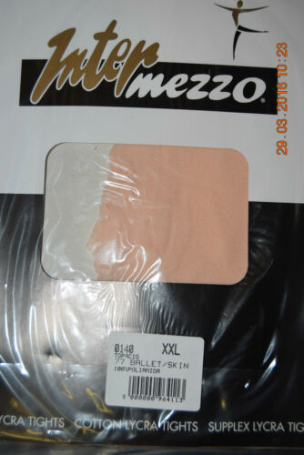 adult and child sizes Pink Intermezzo footed 140 dance tights