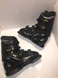 Rossignol-Cockpit-Roc-Downhill-Ski-Boots-Black-Green-Mondo-25-5-Mens-7-5-295mm
