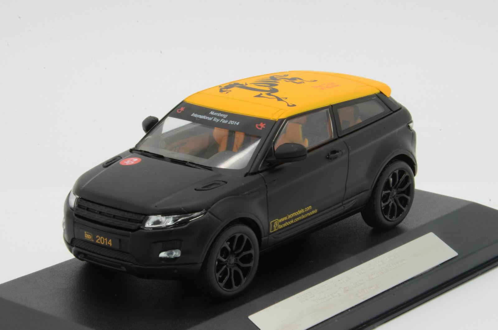 RARe   Range Rover Evoque 2014 Nürnberg Toy Fair Limited 99 pcs IXO 1 43