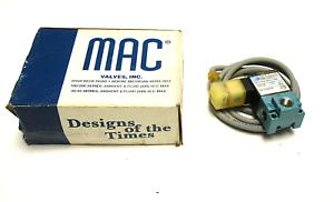 NEW MAC 35A-AAA-DFFJ-1KD SOLENOID VALVE