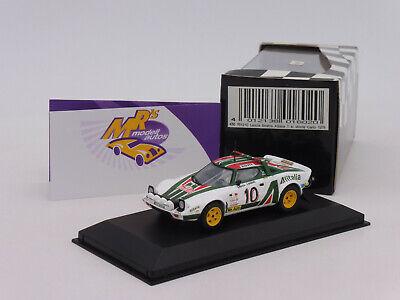 Lancia Stratos Rallye RAC Rally 1976  Minichamps  Limitiert  528 Stück  OVP  NEU
