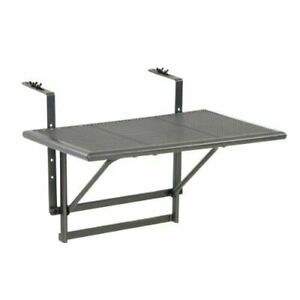 Tavolo Pieghevole Da Terrazzo.Greemotion 416505 Tavolino Pieghevole Da Balcone Regolabile In