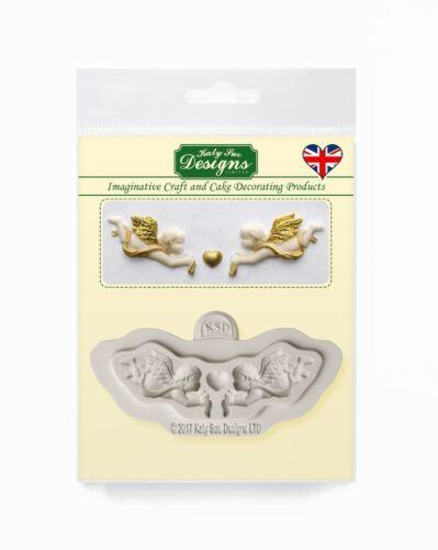 Katy Sue Design Mat Fondant Gâteau Glaçage Craft Embellissement Moule-mini angelots
