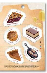 2019-Canada-SWEET-CANADA-RIGHT-PANE-5-MNH-Single-Stamps-from-Booklet