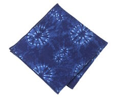 NEW Pocket Square Handkerchief Denim Indigo Made with Ralph Lauren Fabric RRL