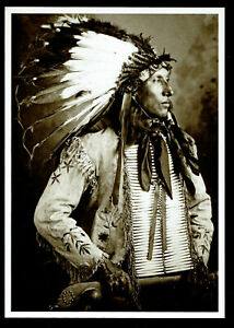 859-Postcard-KICKS-IRON-Dakota-Sioux-Frank-B-Fiske-1905-Photo-New