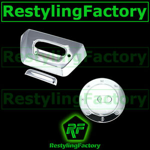 02-06-Chevy-AVALANCHE-1500-2500-Chrome-Tailgate-Keyhole-Handle-Gas-Tank-Cover
