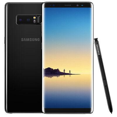 Samsung Galaxy Note8 (Note 8) N950FD Dual 6G+64GB Midnight Black Ship fm EU