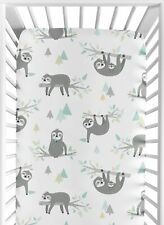 BonEful NEW RTS Baby Nursery MINI CRIB Bed SHEET Fitted Deep Unisex Girl Giraffe