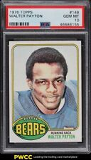 1976 Topps Football Walter Payton ROOKIE RC #148 PSA 10 GEM MINT