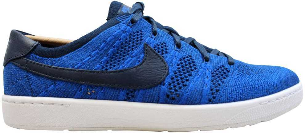 Nike Tennis Classic Classic Classic Ultra Flyknit College Navy Racer bluee-White 830704-401 SZ 11 311446