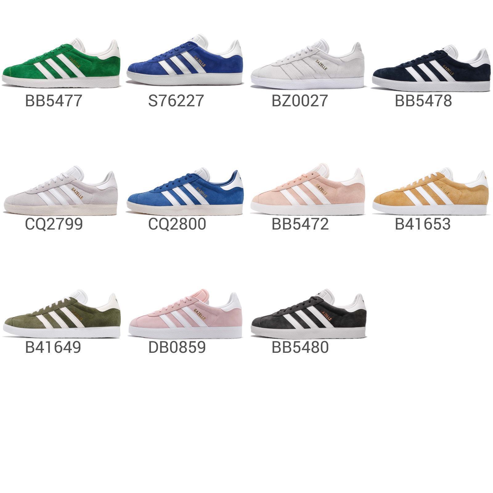 Adidas Originals Gazelle Mens   Womens Casual shoes Classic Sneakers Pick 1