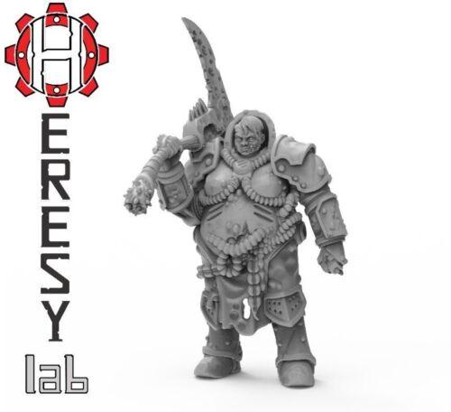 Warhammer 40k style proxy Death guard Plague Marine Female Champion #289bx
