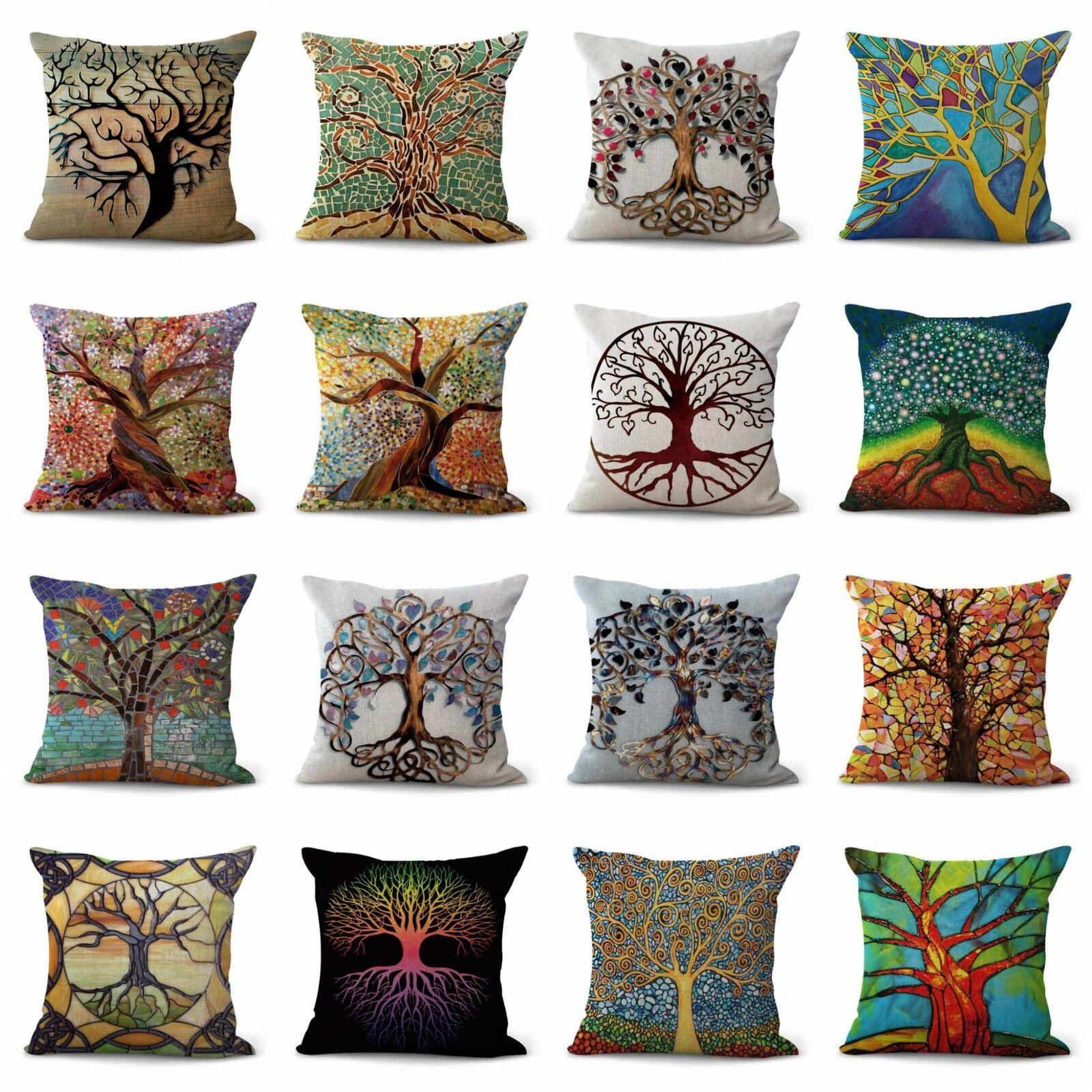 US Vendeur-Set de 12 intérieur meubles remplacement coussins arbre de vie