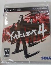 Yakuza 4 (Sony PlayStation 3, 2011 RE-PRINT) Brand New
