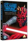Star Wars The Clone Wars Season 4 Complete 5 Disc DVD UK Animated Series REGIO