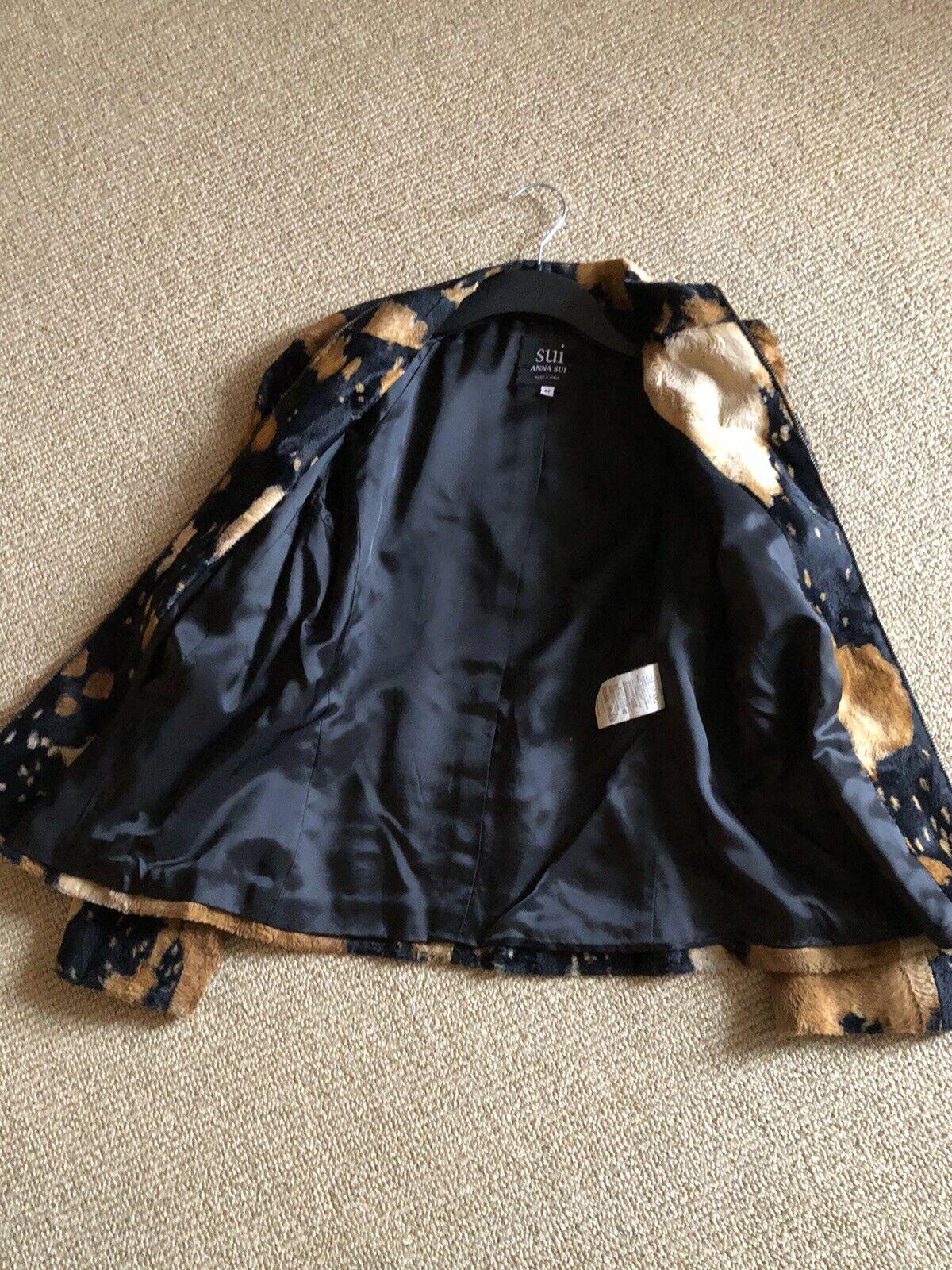 Pre Owned SUI-Anna Sui Vintage Ladies Jacket,Size… - image 5