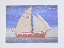 Martin Wiscombe Sailboat | Poster Kunstdruck Bild 29,8x39,9cm - Portofrei