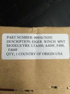 99950-70292 OEM SUZ. WINCH MOUNT LT-A 400 EIGER MODELS 02-07