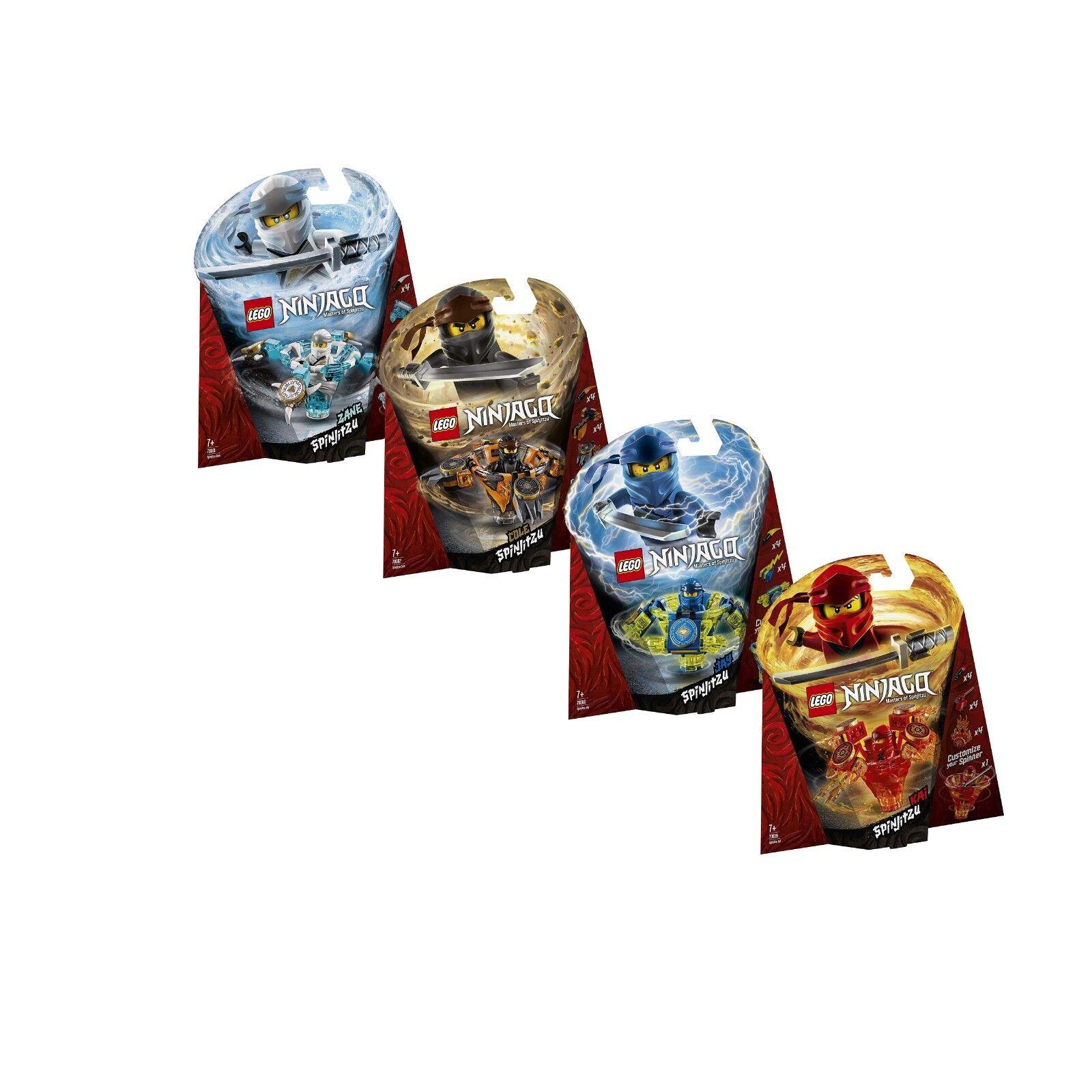 LEGO® Ninjago Set  70659 70660 70661 70662 Spinjitzu - neu ovp