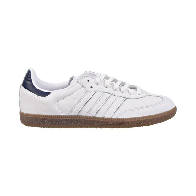 Adidas Samba OG Mens Shoes Footwear White Collegiate Navy Gum d96782