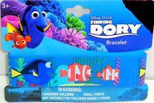 Kids Disney Pixar Finding Dory w/Nemo Rubber Bracelet Wristband Party Favor