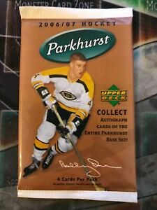 2006-07-PARKHURST-Hockey-Factory-Sealed-BOOSTER-Pack-1-PACK-RARE