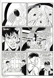 MALIK-amp-GARZA-BOARD-ORIGINAL-DYLAN-DOG-039-DEMON-BLOB-039