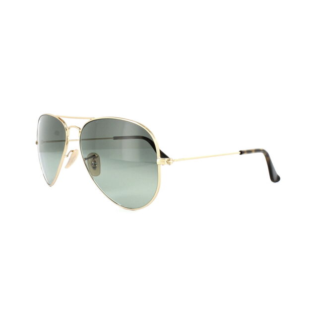 9e91419b4be28 Ray-Ban Sunglasses Aviator 3025 181 71 Gold   Havana Grey Gradient Medium  58mm