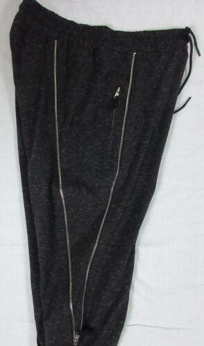 XL L HUDSON LIGHT WEIGHT CARGO PANTS HEATHER BLACK SIZE M 2XL