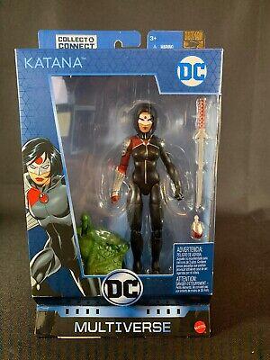 DC Universe Classic Multiverse Killer Croc Build A Figure Series *No BAF* Katana