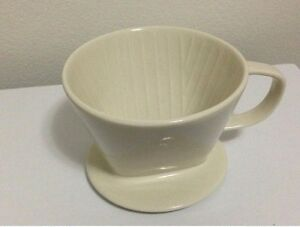 Ivory-3-holes-102-Ceramic-Dripper-Barista-Coffee-Maker-Bowl-Cup-Filter-Pour-Over