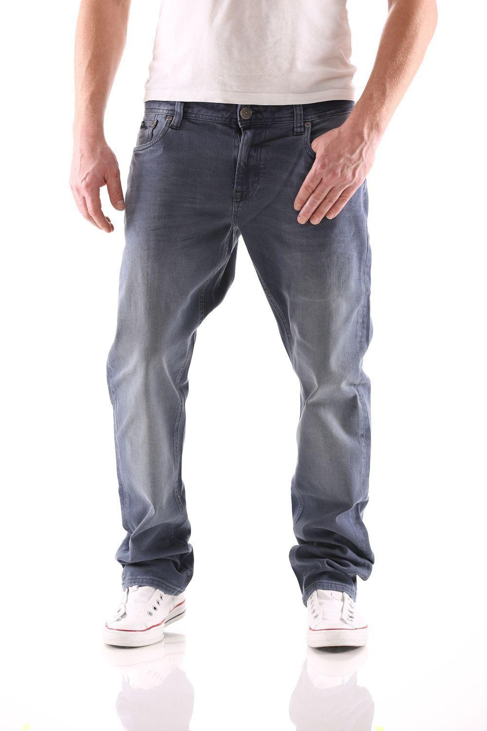 Big Seven Stanley Teal bluee Regular Men's Jeans New