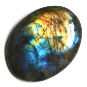 Cts-49-25-Natural-Multi-fire-Labradorite-Cabochon-Oval-Cab-Loose-Gemstone