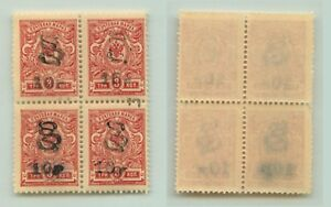 Armenia-1919-SC-146-MNH-block-of-4-e7819