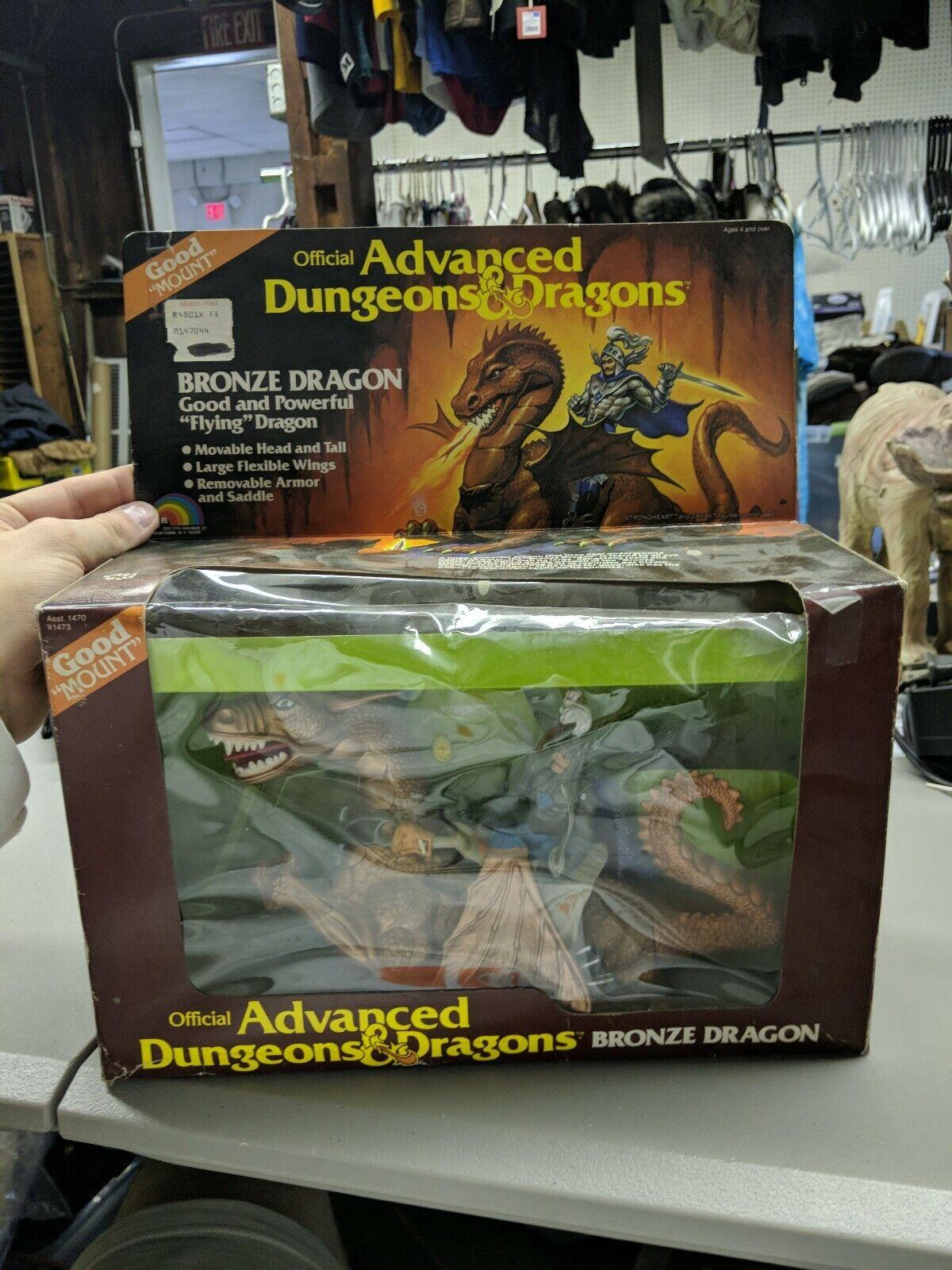 Advanced Dungeons & Dragons - Bronze Dragon & Strongheart