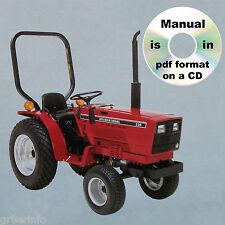 Ih International Harvester 234 Hydro 234 244 254 Tractors Shop Service Manual Cd