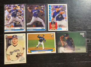 Corbin-Burnes-RC-Lot-6-2019-Topps-Milwaukee-Brewers