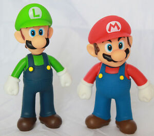 Super-Mario-Brothers-Bros-5-034-Action-Figure-Mario-amp-Luigi-Birthday-Cake-Toppers