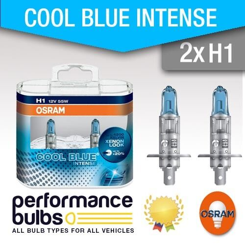 H1 Osram Cool Blue Intense ALPINA B8 Estate 95-98 Foglight Fog Lamp Bulbs E36