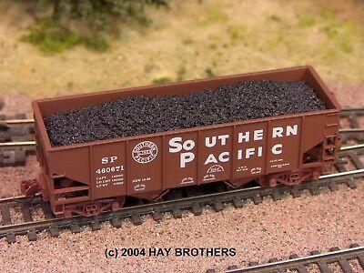 3-pack of Hay Brothers LUMP COAL LOADS Fits MicroTrains Ortner Hopper Cars