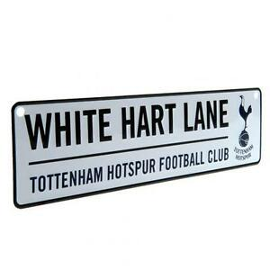 Tottenham-Hotspur-Fc-Spurs-Window-Sign-White-Hart-Lane-Football-Team-Plaque-New