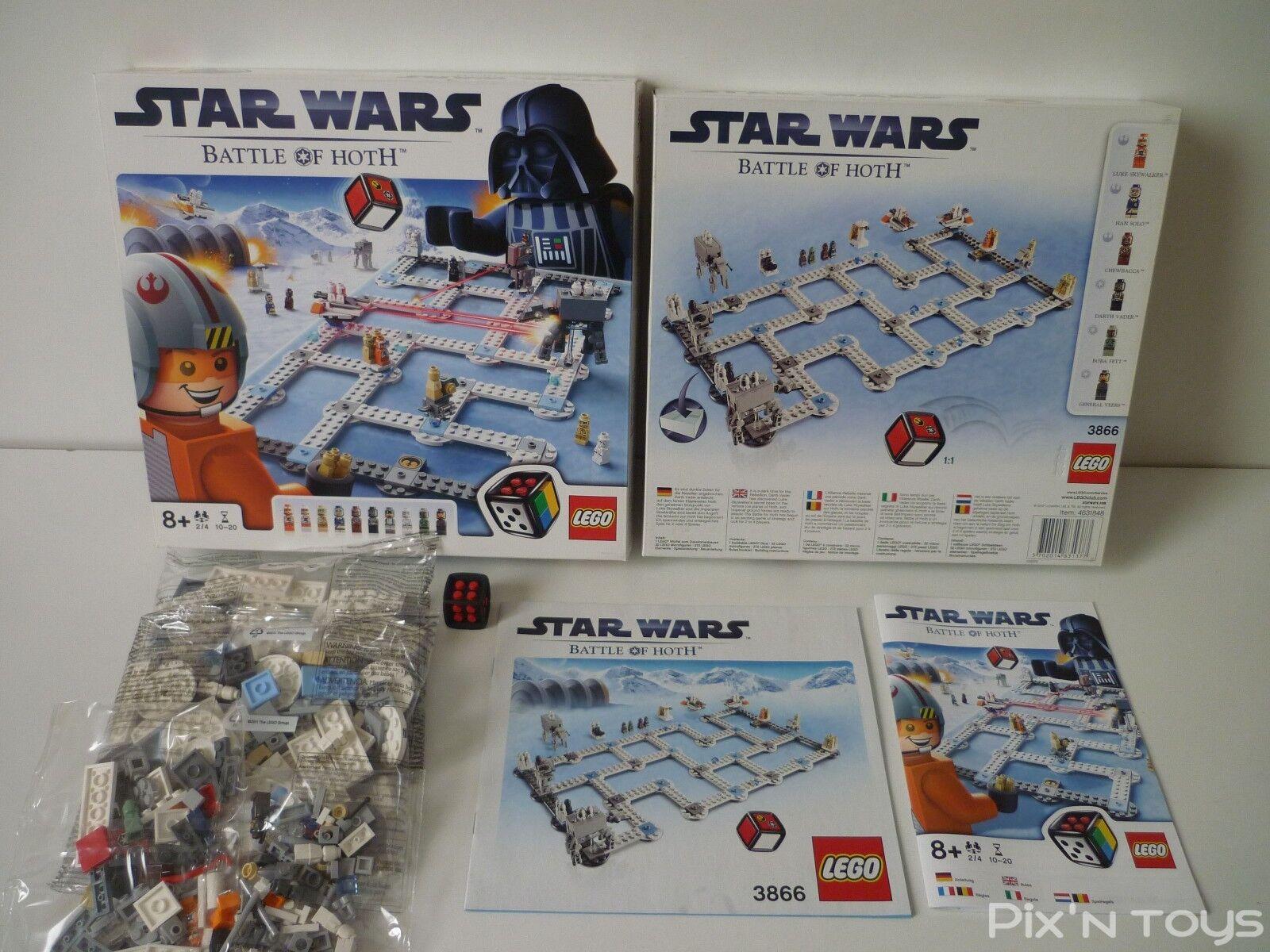 LEGO 3866 Jeu de société Star Wars Battle of Hoth