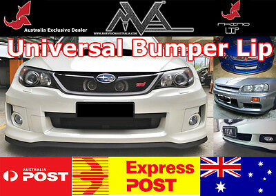 Holden Barina Berlina Calais Camira Commodore Rubber Spoiler Edge Chin Lip Trim