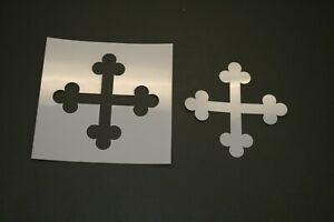 Plus Sign Reusable Mylar Stencil Art Supplies