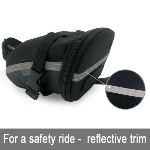 Bike Saddle Bag Bicycle Under Seat Packs Cycling Pouch Wedge for Road Mountain