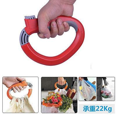 GRAU 1Pcs New One Trip Grip Shopping Grocery Bag Grip Holder Handle Carrier Tool