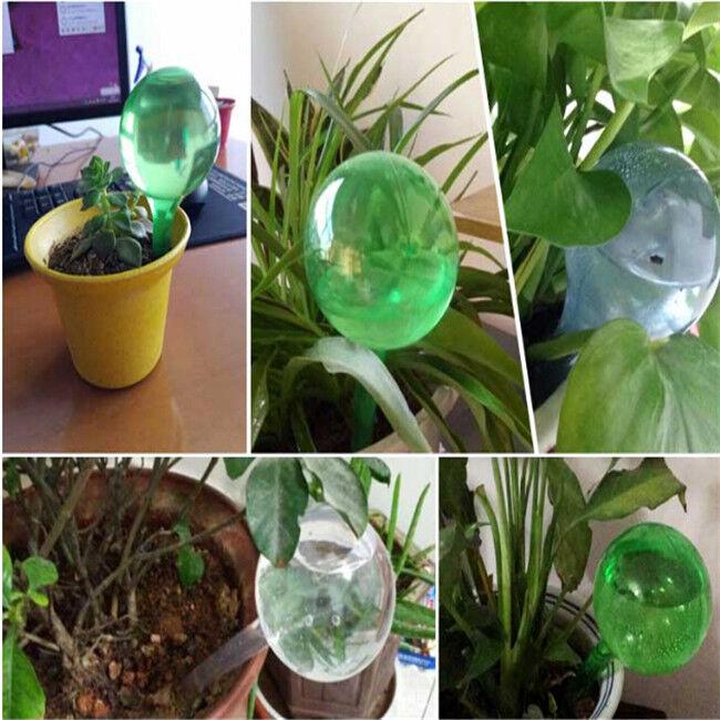 Self-Watering System Plant Waterer Imitation Glass Automatic Device Ball Drip LA