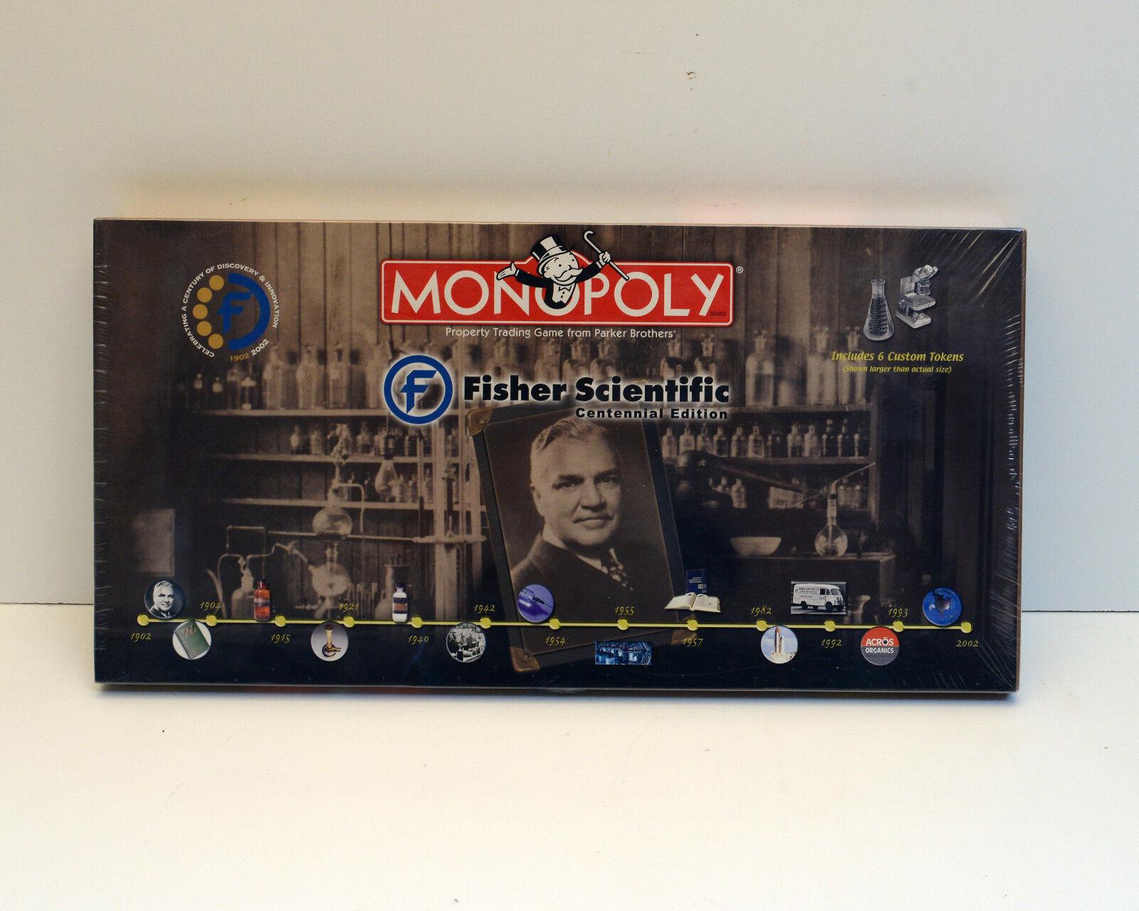 Monopoly Fisher Scientific Collectors Edition Rare