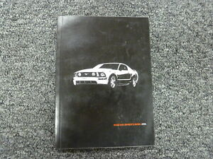 ford mustang coupe convertible owner owners manual